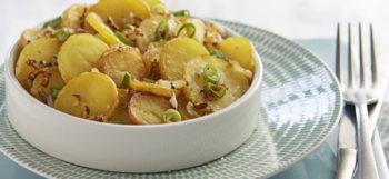 salade de pommes de terre Lyonnaise