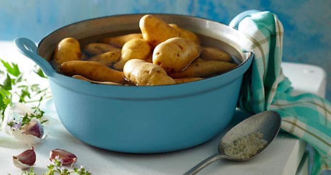 astuces cuisson rapide pommes de terre